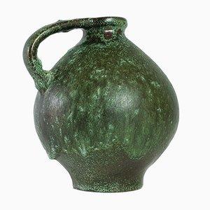 Jarrón 352 de cerámica Fat Lava de Kurt Tschörner para Ruscha, años 60