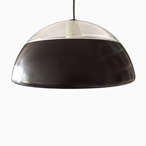 French Industrial Europhane Pendant Lamp from Holophane, 1960s