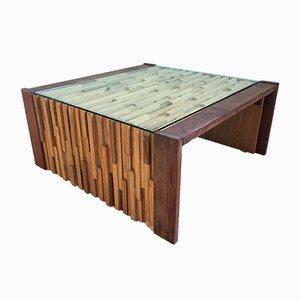 Tavolino da caffè pieghevole di Percival Lafer, anni '70