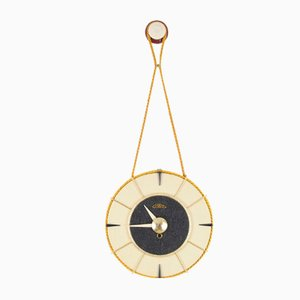 Orologio da parete Space Age di Prim, anni '50