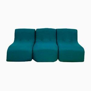 Modulare Vintage Sessel für Kinder, 3er Set