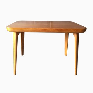 Danish Coffee or Side Table in Birch from Fritz Hansen, 1950s