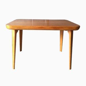 Tavolino in legno di betulla di Fritz Hansen, Danimarca, anni '50