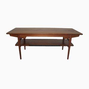 Table Basse en Contreplaqué Teck, 1960s