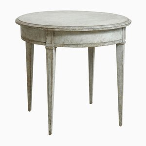 Petite Table de Chevet Antique de Style Gustavien