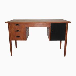Teak furnierter Schreibtisch, 1960er