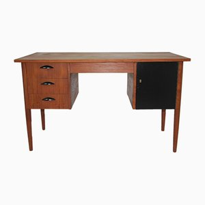 Teak Veneered Desk, 1960s