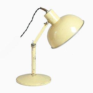Lámpara de mesa Radiaray convertida de Hinders Ltd, años 30