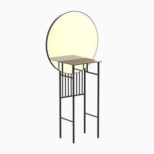 Table Console SO-NAIVE Miroir Noire par Alex Baser pour MIIST