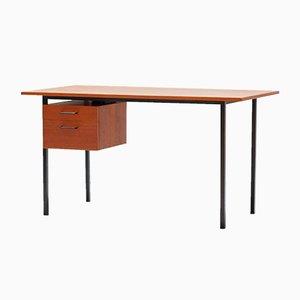Mid-Century Modern Schreibtisch aus Teak, 1950er