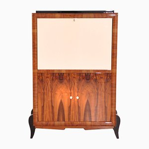 Art Deco Walnut Secretaire, 1920s