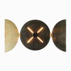 Runde Triptychon Wandlampe von Jesse Visser, 2015