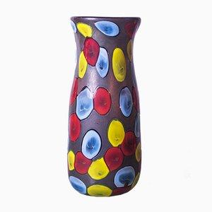 Nerox a Petoni Vase von Ermanno Toso für Fratelli Toso, 1962