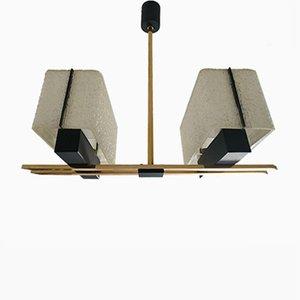 Lámpara de araña moderna de Arlus, años 60