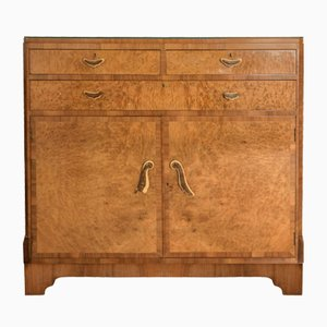 Art Deco Walnut Dresser, 1920s