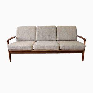 Mid-Century Modell 6 3-Sitzer Sofa von Arne Vodder für Vamø