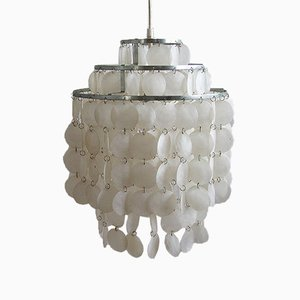 Deckenlampe aus Metall & Acryl, 1970er