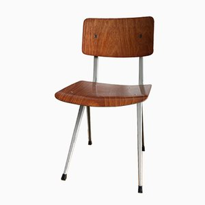 Mid-Century Industrial Chair by Friso Kramer for Ahrend de Cirkel