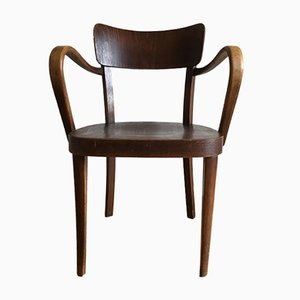 Beechwood Armchair from Thonet, 1920s