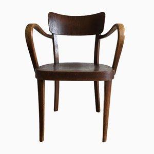 Beechwood Armchair from Thonet, 1920s