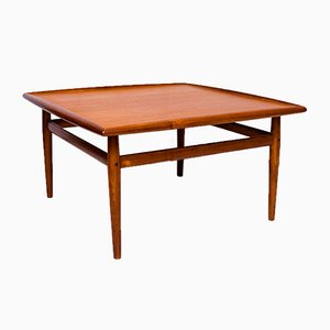 Teak Coffee Table by Grete Jalk for France & Søn, 1960s