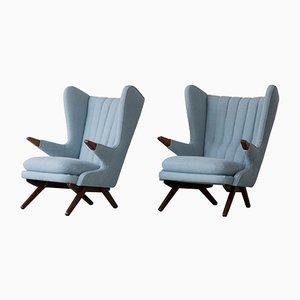 Vintage Modell 91 Chairs von Svend Skipper für Skipper, 2er Set