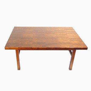 Mesa de centro vintage de palisandro de Bramin, años 60