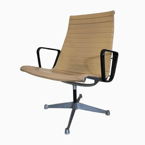 Model EA116 Aluminum Swivel Chairs by Charles & Eames for Herman Miller, 1950s, Set of 2