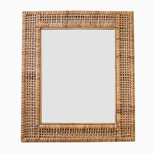 Specchio in vimini, Svezia, anni '50