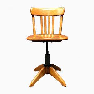 German Desk Chair by Albert Stoll for Der Federdreh, 1940s