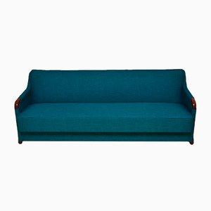 Sofá cama danés Mid-Century, años 60