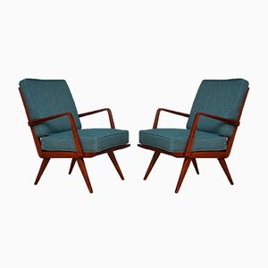 Antimott Armchair by Walter Knoll, 1950s, Set of 2
