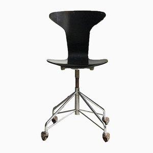 Chaise de Bureau par Arne Jacobsen pour Fritz Hansen, 1960s