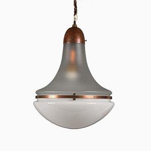 Lámpara Lyzette grande de Peter Behrens para Siemens, años 30