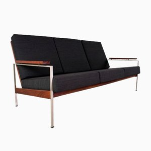 Lotus 75 Sofa with Upholstered Armrests by Rob Parry for De Ster Gelderland, 1960s
