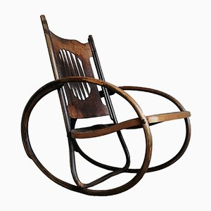Rocking Chair pour Enfant de J&J Kohn, 1900s