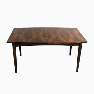 Tavolo da pranzo vintage in palissandro di Falster Furniture