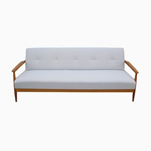 Light Beige Cherry Daybed Sofa, 1960s
