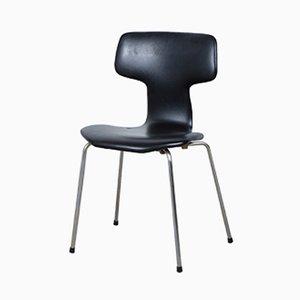Chaise-T Mid-Century par Arne Jacobsen pour Fritz Hansen