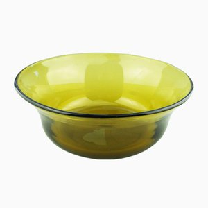 Mid-Century Glass Bowl from Whitefriars