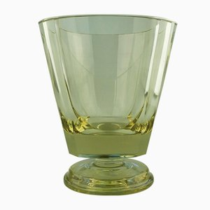 Kelchförmige skandinavische Vintage Vase von EDA, 1930er
