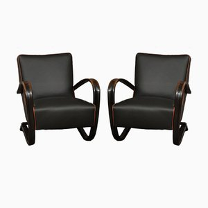 Model 269 Lounge Chairs by Jindřich Halabala for UP Závody, Set of 2