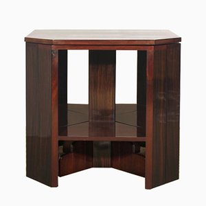 Set of 5 Mahogany Nesting Tables, 1930s