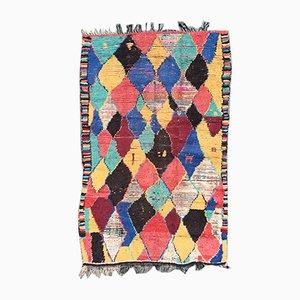 Vintage Berber Azilal Carpet, 1980s