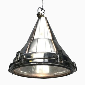 Korean Stainless Steel Flood-Light Pendant Lamp by Daeyang, 1970s