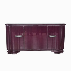 Vintage Purple Sideboard, 1930s