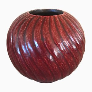 Stoneware Vase by Gunnar Nylund for Rörstrand, 1940s