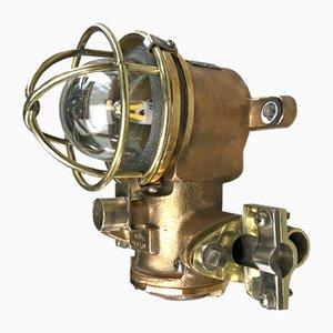 Lampada in ottone di Kokosha, anni '80