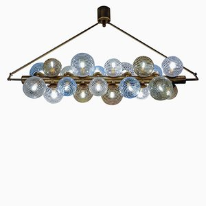 Chandelier with Murano Glass Globes from Glustin Luminaires, 2018