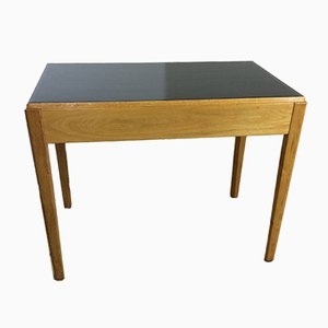 Art Deco Golden Oak Desk, 1930s